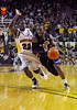 Jan 26th, 2010:  <br /> Kansas State Jacos Pullen #0 G drives to the basket<br /> in a NCAA basketball game between the Kansas State Wildcats and the Baylor Bears at the Ferrell Coliseum in Waco, Texas.<br /> Kansas State wins 76-74