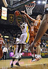 March 6th, 2010:  <br /> Baylor Bears Ekpe Udoh #13 F/C gets a rebound<br /> in a NCAA basketball game between the Texas Longhorns and the Baylor Bears at the Ferrell Coliseum in Waco, Texas.<br /> Baylor wins 92-77