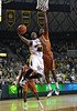 March 6th, 2010:  <br /> Baylor Bears Tweety Carter #45 Guard drives to the basket<br /> in a NCAA basketball game between the Texas Longhorns and the Baylor Bears at the Ferrell Coliseum in Waco, Texas.<br /> Baylor wins 92-77