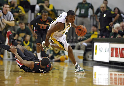 Feb 16th, 2010:   Baylor Guard Lacedarius Dunn #24 gets a steal and drives to the basket during a NCAA Basketball game between the Texas Tech Red Raiders and the Baylor Bears at the Ferrell Center at Waco, Texas Baylor wins 88-70