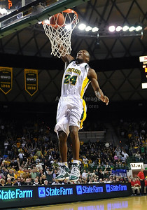 Feb 16th, 2010:   Baylor Guard Lacedarius Dunn #24 gets a dunk during a NCAA Basketball game between the Texas Tech Red Raiders and the Baylor Bears at the Ferrell Center at Waco, Texas Baylor wins 88-70