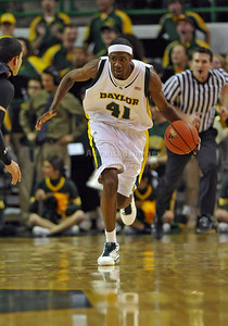 Feb 16th, 2010:   Baylor Forward Anthony Jones #41 gets a rebound during a NCAA Basketball game between the Texas Tech Red Raiders and the Baylor Bears at the Ferrell Center at Waco, Texas Baylor wins 88-70