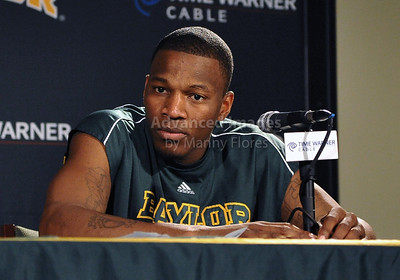 Feb 16th, 2010:   Baylor Guard Lacedarius Dunn #24 interviews after an NCAA Basketball game between the Texas Tech Red Raiders and the Baylor Bears at the Ferrell Center at Waco, Texas Baylor wins 88-70