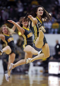 Feb 16th, 2010:   Baylor Bears Cheerleaders  in action during a NCAA Basketball game between the Texas Tech Red Raiders and the Baylor Bears at the Ferrell Center at Waco, Texas Baylor wins 88-70