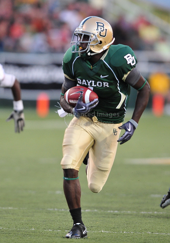 September 26th 2009:  <br /> Baylor wide receiver Kendall Wright #1<br /> in action during a NCAA Football game between the Baylor Bears and the Northwestern State Demons at Floyd Casey  Stadium in Waco, TX.  <br /> Baylor wins 68-13