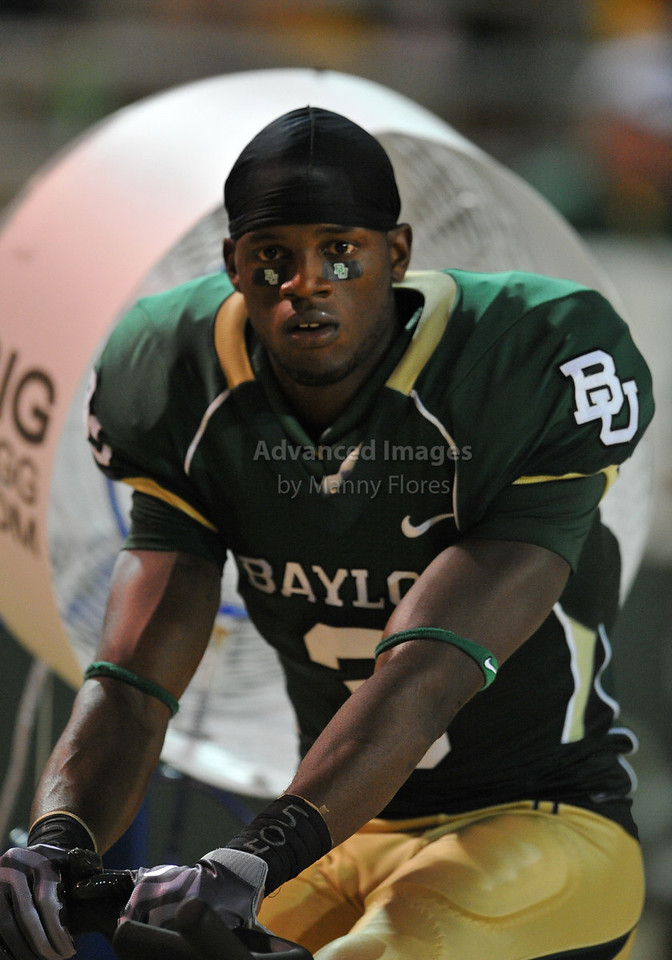 September 26th 2009:  <br /> Baylor wide receiver Ernest Smith #3<br /> in action during a NCAA Football game between the Baylor Bears and the Northwestern State Demons at Floyd Casey  Stadium in Waco, TX.  <br /> Baylor wins 68-13