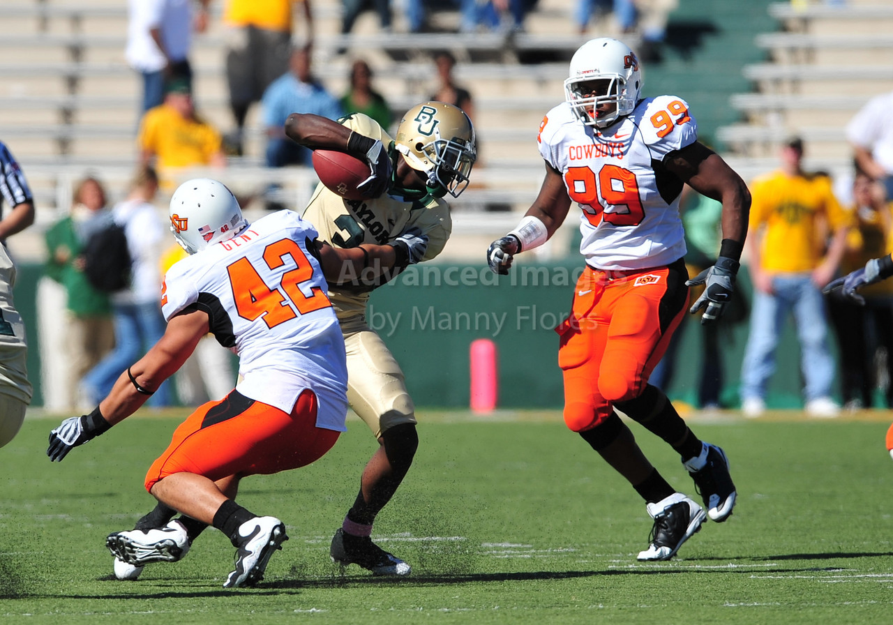 October 24th, 2009:  <br /> Baylor wide receiver Ernest Smith #3<br /> in action during a NCAA Football game between the Oklahoma State Cowboys and Baylor Bears at Floyd Casey  Stadium in Waco, TX.  <br /> Oklahoma State wins 34-7.