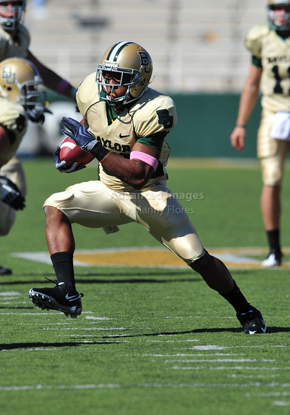 October 24th, 2009:  <br /> Baylor running back Jarred Salubi #21<br /> in action during a NCAA Football game between the Oklahoma State Cowboys and Baylor Bears at Floyd Casey  Stadium in Waco, TX.  <br /> Oklahoma State wins 34-7.