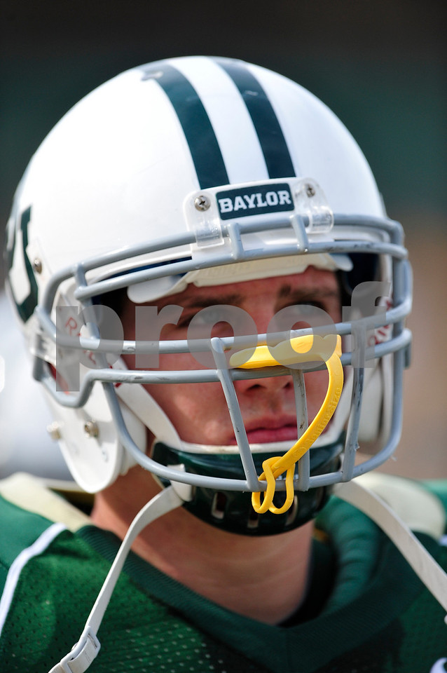 September 19th 2009:  <br /> Baylor linebacker Joe Pawelek (41)<br /> in action during a NCAA Football game between the Baylor Bears and the University of Connecticut at Floyd Casey  Stadium in Waco, TX.  <br /> Baylor loses to UConn 30-22