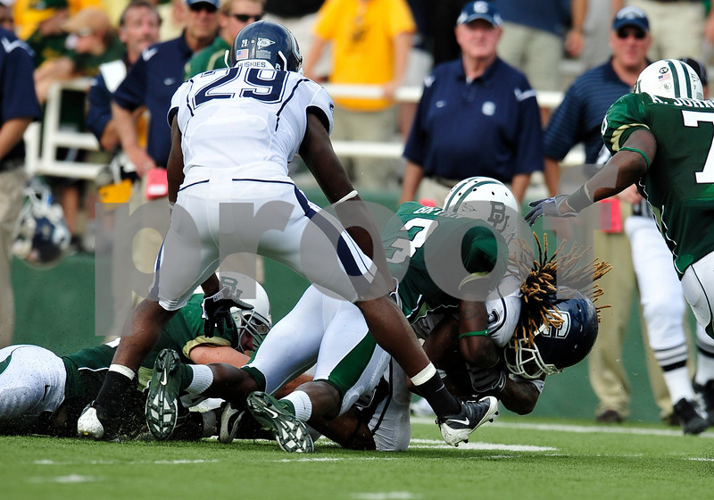 September 19th 2009:  <br /> Baylor wide receiver Ernest Smith (3)<br /> in action during a NCAA Football game between the Baylor Bears and the University of Connecticut at Floyd Casey  Stadium in Waco, TX.  <br /> Baylor loses to UConn 30-22