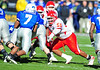 December 31, 2008:  <br /> Houston defensive tackle Cody Pree #56<br /> in action during the NCAA Football game between the Houston Cougars and the Air Force Falcons at the Bell Helicopter Armed Forces Bowl in Ft. Worth, TX.  Houston defeated Air Force 34-28. Manny Flores/CSM