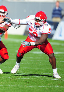 December 31, 2008:   Houston defensive end Phillip Hunt #53 in action during the NCAA Football game between the Houston Cougars and the Air Force Falcons at the Bell Helicopter Armed Forces Bowl in Ft. Worth, TX.  Houston defeated Air Force 34-28. Manny Flores/CSM