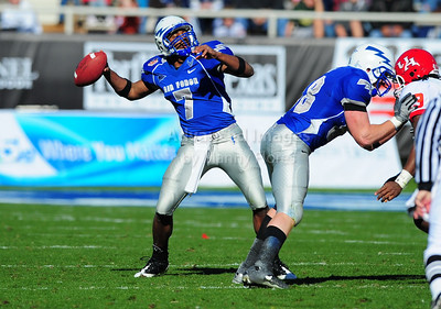 December 31, 2008:   Air Force quarterback Eric Herbort #7 in action during the NCAA Football game between the Houston Cougars and the Air Force Falcons at the Bell Helicopter Armed Forces Bowl in Ft. Worth, TX.  Houston defeated Air Force 34-28. Manny Flores/CSM