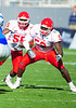 December 31, 2008:  <br /> Houston defensive end Phillip Hunt #53<br /> Houston linebacker Marcus McGraw #55 in action during the NCAA Football game between the Houston Cougars and the Air Force Falcons at the Bell Helicopter Armed Forces Bowl in Ft. Worth, TX.  Houston defeated Air Force 34-28. Manny Flores/CSM