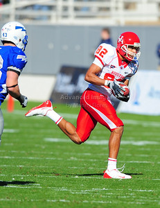December 31, 2008:   Houston WR Chaz Rodriguez #82 in action during the NCAA Football game between the Houston Cougars and the Air Force Falcons at the Bell Helicopter Armed Forces Bowl in Ft. Worth, TX.  Houston defeated Air Force 34-28. Manny Flores/CSM