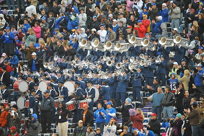 December 31st  2009:   Air Force Band during the Armed Forces Bowl NCAA Football game between the Air Force Falcons and the Houston Cougars at Amon G. Carter Stadium in Ft. Worth, TX.   Air Force wins 47-20