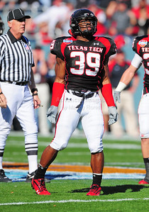 02 January 2009:    in action during the NCAA Cotton Bowl game between the Ole Miss Rebels and the Texas Tech Red Raiders in Dallas,TX.  Ole Miss beat Texas Tech 47-34. Manny Flores/Icon SMI