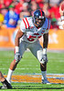 02 January 2009:  <br /> Mississippi defensive tackle Jerrell Powe (57) in action during the NCAA Cotton Bowl game between the Ole Miss Rebels and the Texas Tech Red Raiders in Dallas,TX.  Ole Miss beat Texas Tech 47-34.<br /> Manny Flores/Icon SMI