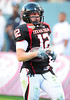 02 January 2009:  <br /> Texas Tech wide receiver Eric Morris (12)<br /> in action during the NCAA Cotton Bowl game between the Ole Miss Rebels and the Texas Tech Red Raiders in Dallas,TX.  Ole Miss beat Texas Tech 47-34.<br /> Manny Flores/Icon SMI
