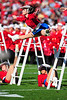 02 January 2009:  <br /> Ole Miss Drill Team<br /> in action during the NCAA Cotton Bowl game between the Ole Miss Rebels and the Texas Tech Red Raiders in Dallas,TX.  Ole Miss beat Texas Tech 47-34.<br /> Manny Flores/Icon SMI