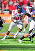 02 January 2009:  <br /> Mississippi defensive tackle Ted Laurent (99) in action during the NCAA Cotton Bowl game between the Ole Miss Rebels and the Texas Tech Red Raiders in Dallas,TX.  Ole Miss beat Texas Tech 47-34.<br /> Manny Flores/Icon SMI