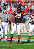 02 January 2009:  <br /> Texas Tech linebacker Marlon Williams (39) in action during the NCAA Cotton Bowl game between the Ole Miss Rebels and the Texas Tech Red Raiders in Dallas,TX.  Ole Miss beat Texas Tech 47-34.<br /> Manny Flores/Icon SMI