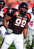 02 January 2009:  <br /> Texas Tech defensive tackle Richard Jones (99) in action during the NCAA Cotton Bowl game between the Ole Miss Rebels and the Texas Tech Red Raiders in Dallas,TX.  Ole Miss beat Texas Tech 47-34.<br /> Manny Flores/Icon SMI