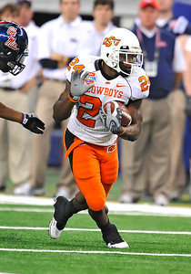 Jan 2nd, 2009  Oklahoma State running back Kendall Hunter #24 at the 2010 AT&T Cotton Bowl Classic between the Ole Miss Rebels and the Oklahoma State Cowboys at the Cowboy Stadium in Arlington, Texas. Ole Miss wins 21-7 (Credit Image: © Manny Flores/Cal Sport Media)