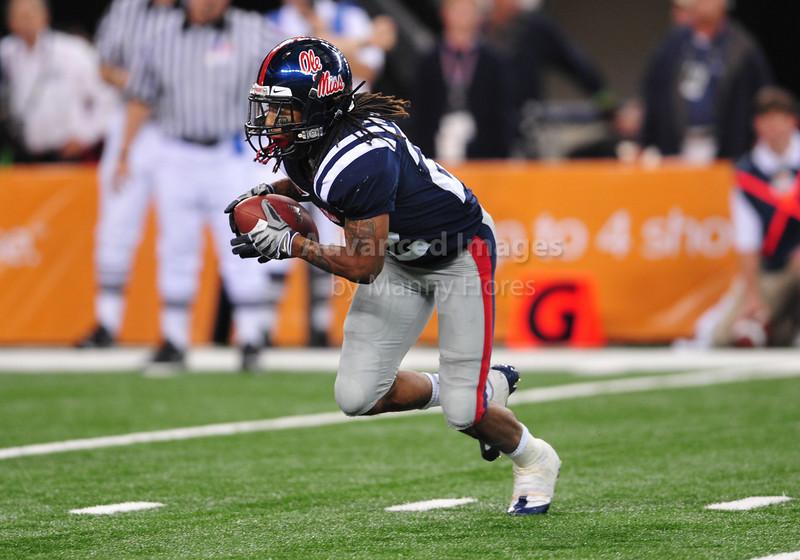 Jan 2nd 2009 Br Mississippi Running Back Dexter McCluster 22 In