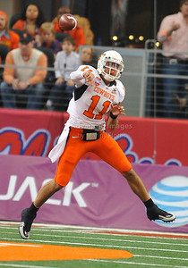 Jan 2nd, 2009  Oklahoma State quarterback Zac Robinson #11 passes the ball at the 2010 AT&T Cotton Bowl Classic between the Ole Miss Rebels and the Oklahoma State Cowboys at the Cowboy Stadium in Arlington, Texas. Ole Miss wins 21-7 (Credit Image: © Manny Flores/Cal Sport Media)