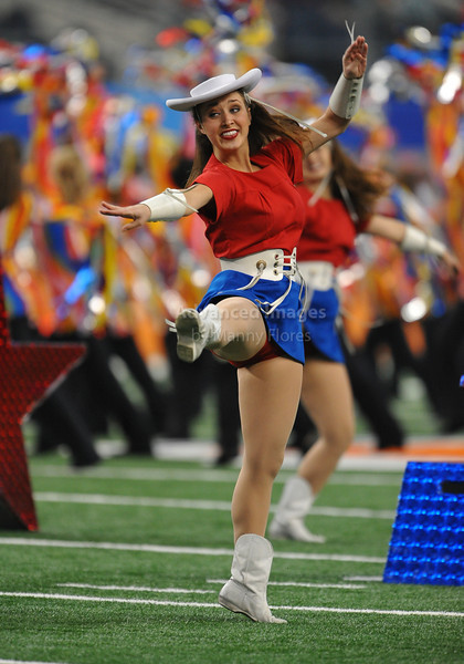 Jan 2nd, 2009 <br /> Ole Miss Drill Team perform in the 2010 AT&T Cotton Bowl Classic between the Ole Miss Rebels and the Oklahoma State Cowboys at the Cowboy Stadium in Arlington, Texas.<br /> Ole Miss wins 21-7<br /> (Credit Image: © Manny Flores/Cal Sport Media)