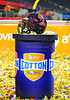 Jan 2nd, 2009 <br /> Ole Miss football helmet on pedestal at the 2010 AT&T Cotton Bowl Classic between the Ole Miss Rebels and the Oklahoma State Cowboys at the Cowboy Stadium in Arlington, Texas.<br /> Ole Miss wins 21-7<br /> (Credit Image: © Manny Flores/Cal Sport Media)