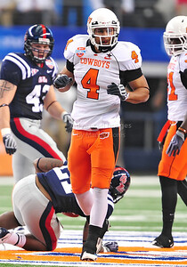 Jan 2nd, 2009  Oklahoma State linebacker Patrick Lavine at the 2010 AT&T Cotton Bowl Classic between the Ole Miss Rebels and the Oklahoma State Cowboys at the Cowboy Stadium in Arlington, Texas. Ole Miss wins 21-7 (Credit Image: © Manny Flores/Cal Sport Media)
