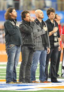 Jan 2nd, 2009  The Eli Young Band performed the National Anthem at the 2010 AT&T Cotton Bowl Classic between the Ole Miss Rebels and the Oklahoma State Cowboys at the Cowboy Stadium in Arlington, Texas. Ole Miss wins 21-7 (Credit Image: © Manny Flores/Cal Sport Media)