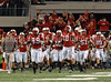 The Nebraska team enters the stadium prior to the start of the 2009 Big 12 Championship Game.
