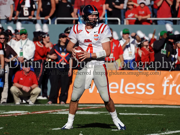 2009 AT&T Cotton Bowl (Ole Miss v. Texas Tech)