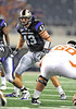 04 Sept 2010:  <br /> TCU Horned Frogs linebacker Tank Carder #43 in action<br /> in a game between the Oregon State Beavers vs TCU Horned Frogs at Cowboy Stadium in Arlington Texas.<br /> TCU wins 30-21