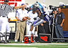Sept 4 2010:  <br /> TCU Horned Frogs wide receiver Jeremy Kerley #85 runs into an official in a game between Oregon State Beavers vs Texas Christian University Frogs at Cowboys Stadium in Arlington, Texas.<br /> TCU wins 30-21<br /> (Credit Image: © Manny Flores/Cal Sport Media)