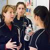 Princeton's Gail Ramsay, Amanda Siebert, and Vanessa Yu