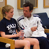 Yale's Dave Talbot and Alexandra Van Arkel