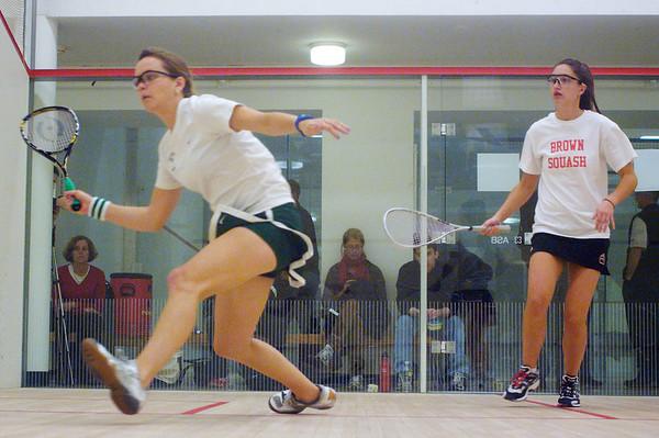Julia Watson (Dartmouth) and Sarah Roberts (Brown)