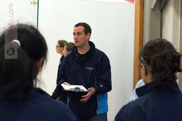 Mount Holyoke Coach Allen Fitzsimmons