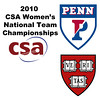 2010 Women's National Team Championships: #3s - June Tiong (Harvard) and Sydney Scott (Penn)