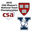 2010 Women's National Team Championships: Yale and Harvard Introductions