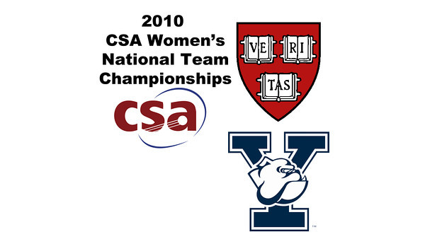 2010 Women's National Team Championships: #3s - Sarah Toomey (Yale) and June Tiong (Harvard)