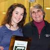 Wetzel Award Winner Ashley Stevens (Wellesley) and Wendy Berry (Wellesley)