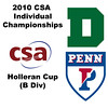 2010 CSA Individuals - Holleran Cup (B Div) Round of 16: Corey Schafer (Dartmouth) and Christina Matthias (Penn)