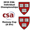 2010 CSA Individuals - Ramsay Cup (A Div) Quarters: Laura Gemmell (Harvard) and Alisha Mashruwala (Harvard)