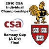 2010 CSA Individuals - Ramsay Cup (Div A) Finals: Laura Gemmell (Harvard) and Pamela Hathway (Trinity)