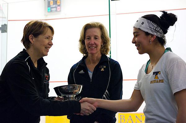 Gail Ramsay (Princeton), Nayelly Hernandez (Trinity), Wendy Bartlett (Trinity)